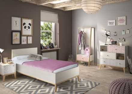 Alika Single or Large Single Bed